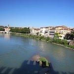 Veduta di Verona dal Ponte Scaligero