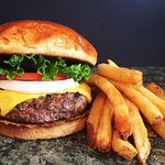 Our 1/2lb Black Angus Beef Burgers can't be beat!