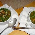 Gemüsesuppe & Frittatensuppe