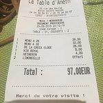 La Table d'Aneth Foto