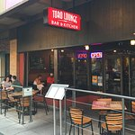 Summer means the patio seats are in high demand at Toro.
