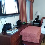 Large TV with DVD player in each room. Large selection of DVD's in front office to check out.