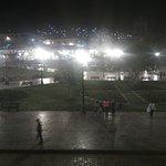 Plaza de Armas, vista nocturna.
