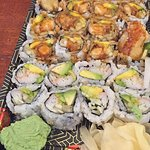California Roll & Shrimp Tempura Roll