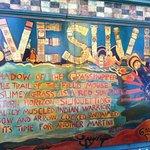 Vesuvio mural on Kerouac Alley