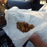Fried Okra and it was good!