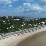 View from my drone at the beach