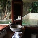 Private swimming pool in every villa