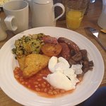 Went for breakfast and it was lovely, continental followed by full English. Staff we really nice
