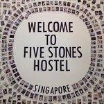 Foto de Five Stones Hostel