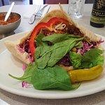 The famous Gaby's Falafel