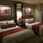 Harrah's Resort SoCal Standard 2 Queen bedroom.