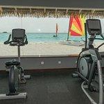 Salle de fitness en
