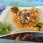 Riz aux calamars (calamars excellent frais et excellent)