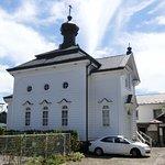 とてもおしゃれな正教会の建物です