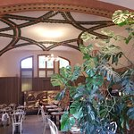 Cafetería modernista
