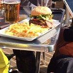 Best cheese burger in Morzine!