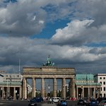 Brandenburg Gate from Strasse des 17 Juni