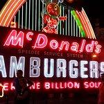 An Original McDonald's Signs From California