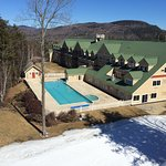 great outdoor pool for apre's ski