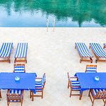 Korcula's largest private waterfront terrace for swimming & sunbathing