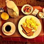 Breakfast in bed ...