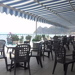 Terrace a front of dinner, again nice sea view