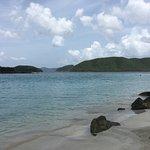 Very nice beach with very soft sand