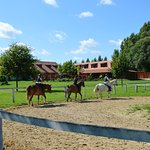 Horse-riding at Equital