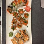Spider roll, Shut up salmon, and the Swimming Prawn