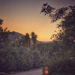 Mountain Views at sunset