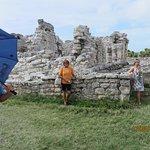 Maya-Ruinen von Tulum Foto