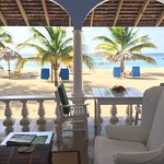 Veranda and beach view - Room 45