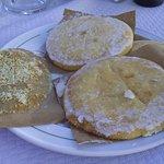 detalle del desayuno tortas de alcázar