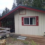 Cabin at the Port Frederick Lodge in Hoonah, AK