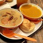 Tokyo Chicken Stew and Roasted Pumpkin
