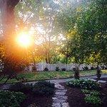 Oak Hill Sunrise Garden Path