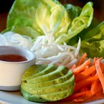 Build your own Lettuce Wraps