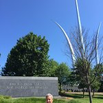 A great site for newcomers to Washington DC, paying respect to US Air Force.