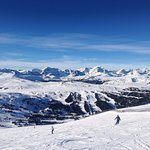Sunshine Village Ski Hill - view from Goats Eye Mountain