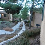 Sedona Pines Resort Units are mobile home type structures.