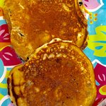 Wonderful blueberry pancakes! Real maple syrup! Great Blueberry goner bread! Friendly, casual pl