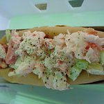 The lobster roll -- one of two that we got