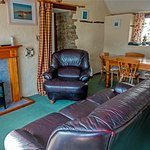 Living room at Linhay Cottage