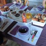 le petit déjeuner magnifique