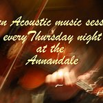 Thursday night acoustic music session at the Annandale Arms