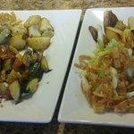 Coconut Shrimp & Teri Chicken - Yum!!! So good!