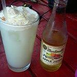 Italian Cream Soda & a Sparkling Apple Juice