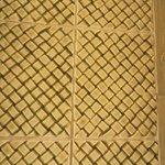 Woodside Cottage Bathroom Tilework at Hotel Hershey