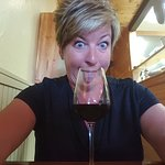 liking the wine